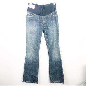 NWT Liz Lange bootcut Maternity Jeans